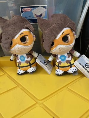 Set of two tracer plushies for Sale in Orangevale, CA