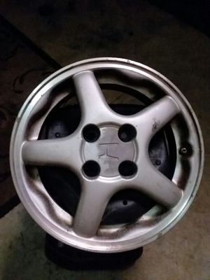 Four. Rims. 14 inch Honda del sol stock rims for Sale in Fort Washington, MD