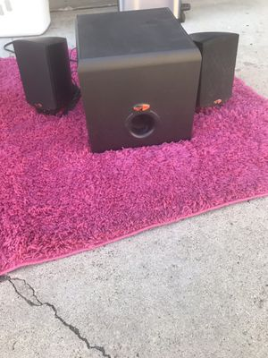 Klipsch desktop stereo system for Sale in San Diego, CA