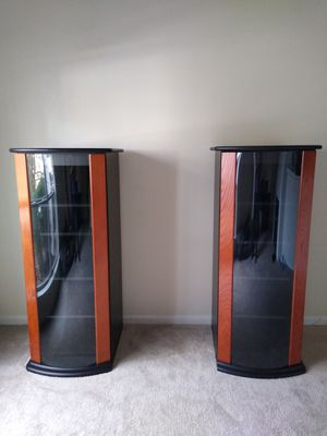 Two Glass Display Shelves for Sale in Raleigh, NC