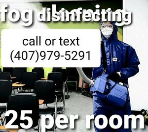 Fogger cleaning and disinfecting for Sale in Orlando, FL