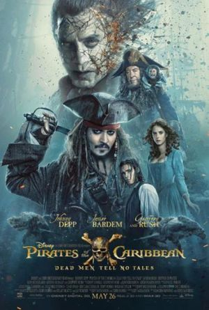 PIRATES OF THE CARIBBEAN DEAD MEN TELL NO TALES DISNEY (HDX VUDU, HDX MA, HD ITUNES) digital movie code. Instant delivery! Free Shipping! (DC4) for Sale in New York, NY