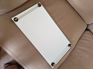 Dresser mirror for perfumes, jewelry, brush for Sale in Hollywood, FL