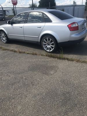 Audi A4 1.8 PARTING OUT LET ME KNOW IF YOUR INTERESTED IN ANYTHING OR BUY CAR FOR 600$ for Sale in Denver, CO