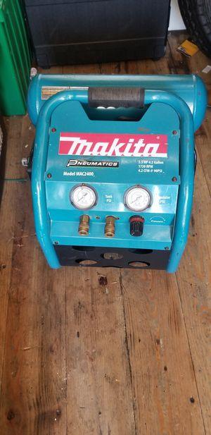 Makita air compressor for Sale in San Jose, CA