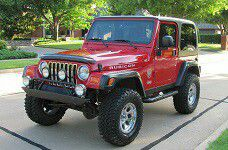 Beautiful Red Jeep Rubicon 4X4 TJ for Sale in Philadelphia, PA