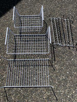 Under Shelf Baskets/Racks + Clothing Racks for Sale in Bothell, WA