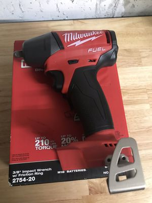 Milwaukee 3/8 impact wrench for Sale in Bolingbrook, IL