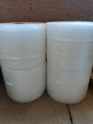 """175FT 3/16"""" (12 Inch Wide) Bubble Wrap Rolls One For $20, Two For $30 for Sale in Las Vegas, NV"""