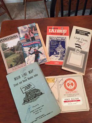 Vintage maps of Pennsylvania for Sale in Alexandria, VA