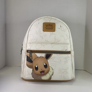 LOUNGEFLY POKEMON EVEE & EEVEELUTIONS MINI BACKPACK for Sale in Rosemead, CA