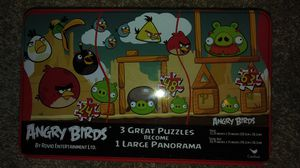 3 in one angry bird puzzle and more for Sale in Aurora, CO