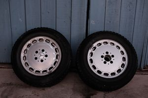 ET25 Mercedes Benz Rims with two 15 inch Bridgestone Tires for Sale in Corona, CA