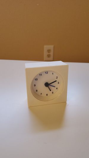Ikea desk clock with alarm for Sale in Aurora, CO