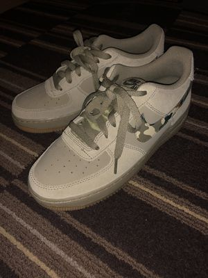 Nike air force 1 Neutral Olive size 6.5y for Sale in Sacramento, CA