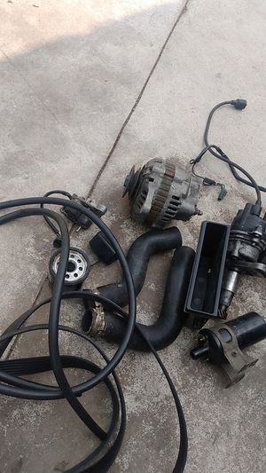 1986 Mazda Parts, Alternator,starter,Hoses,oil Filter, serpentine belt for Sale in Moreno Valley, CA