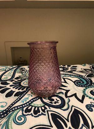 Purple/pink flower vase for Sale in Salem, OR
