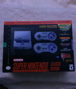Super Nintendo SNES Classic Edition for Sale in South San Francisco, CA