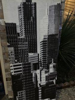 Ikea Canvas Art Modern City for Sale in Beaverton,  OR