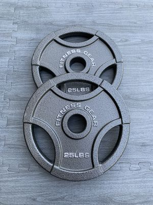 25lb Olympic 2inch Plates (Brand New) for Sale in Riverside, CA