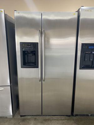 Refrigerator GE Stainless Steel Sidebyside for Sale in Jacksonville, FL