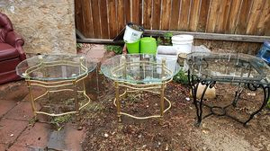 Glass tables for Sale in Redmond, OR