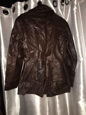 Leather jacket made in Argentina.. But this is classic Jacket that was hand made with the best material for Sale in Takoma Park, MD