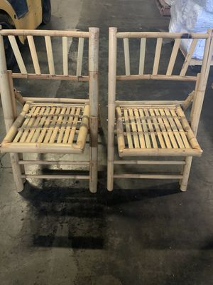 Bamboo chair for Sale in Benicia, CA
