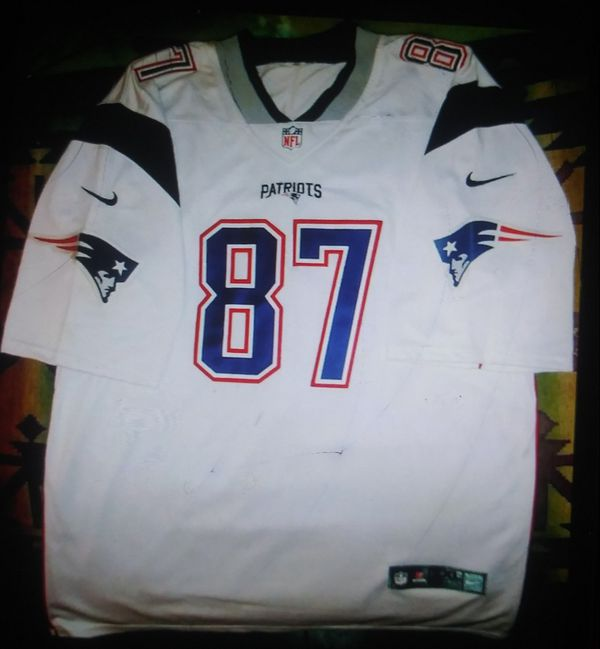 Official NFL Gronkowski jersey New England Patriots