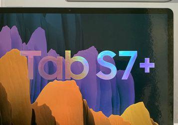 Samsung Tab S7+ 256GB Mystic Silver for Sale in Naperville,  IL