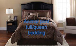 Safari animal print bedding full/queen for Sale in Escondido, CA