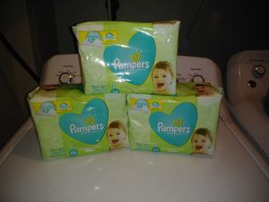 Pampers wipes 216 wipes each for Sale in Westminster, CO
