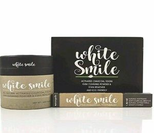 White Smile Activated Charcoal Toothbrush Kit for Sale in Deerfield Beach, FL