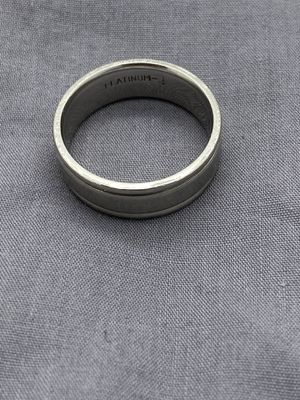 Men's Size 12 Platinum Wedding Band Ring for Sale in Tempe, AZ