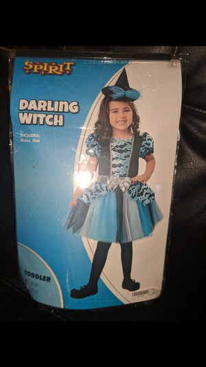 Darling Witch Costume (Toddler 2t - 4t) for Sale in Annandale, VA