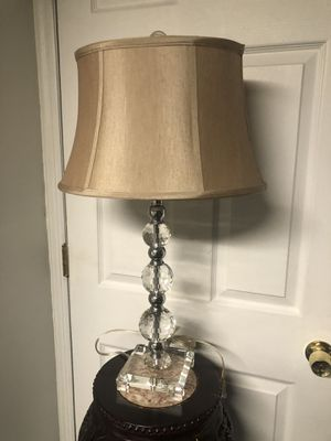Beautiful crystal lamp for Sale in Old Bridge Township, NJ