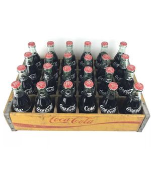 Antique 1978 Coca-Cola crate with unopened bottles for Sale in Miami, FL