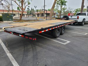 22 ft iron bull hydraulic tilt trailer for Sale in Moreno Valley, CA