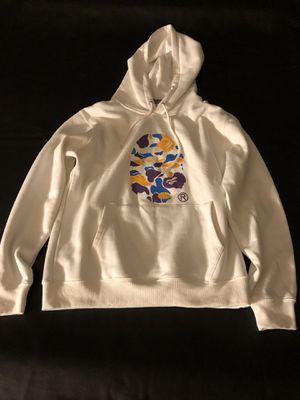 Bape x ASSC hoodie white for Sale in San Ramon, CA