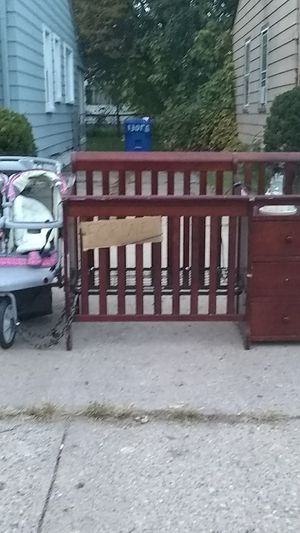 Stroller and crib for Sale in Detroit, MI