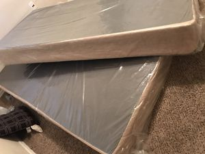 King size bed frames brand new !! I bought a platform frame for my mattress for Sale in Tolleson, AZ