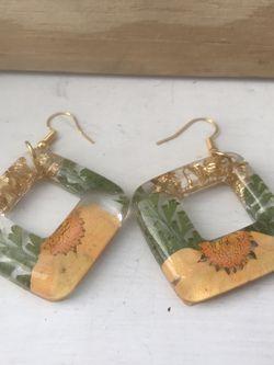Orange Daisy Earrings for Sale in Pittsburgh,  PA