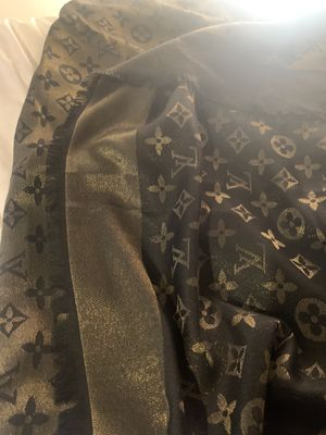 100% Authentic Silk Louis Vuitton Scarf/Shawl (large) for Sale in Arlington, VA