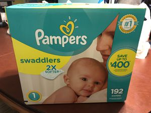 Pampers Swaddlers for Sale in Chino Hills, CA