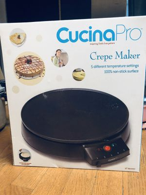 Brand-New Cucina Pro Crepe Maker/ Breakfast Mamet for Sale in New York, NY