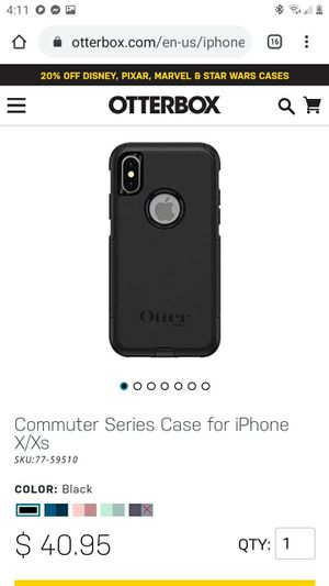 Otterbox iPhone X case-BRAND NEW! for Sale in Salt Lake City, UT