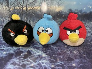 Angry birds plush Set for Sale in Bellflower, CA