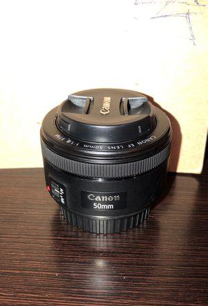 Canon 50mm 1.8 lens for Sale in Davie, FL