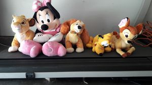 Disney plushies for Sale in North Highlands, CA