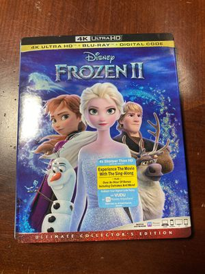 Disney Frozen 2 4K blu-ray movie for Sale in Fontana, CA